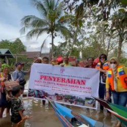 FJPI KALSEL Kembali Menyisir Desa Terisolir Banjir, Masih Banyak Warga Bergantung atas Kepedulian