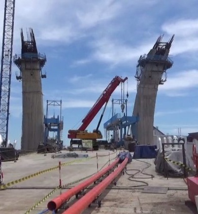 DIUSULKAN Perpanjangan Kontrak Kerja Jembatan Sungai Alalak