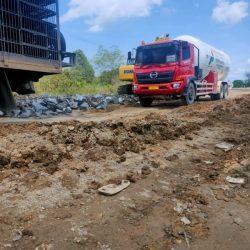 DITUNDA Penutupan Jalan Gubernur Syarkawi