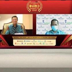 INDONESIA BEST BUMD Awards 2021 Disabet Bank Kalsel