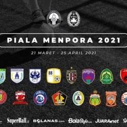 HASIL DRAWING Piala Menpora 2021, Barito Gabung Grup A di Solo