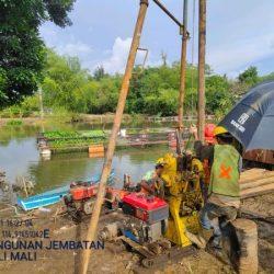 DIGARAP Proyek Fisik Jembatan Ruas Jalan Sungai Ulin – Mataraman