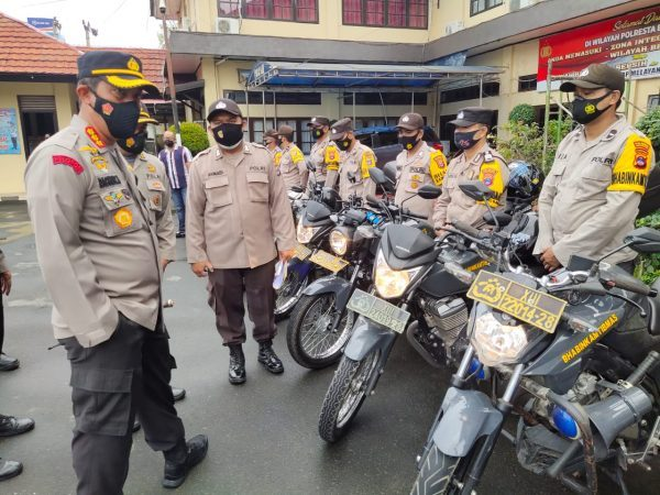 RANMOR Dicek Kapolresta Memastikan Kesiapan Pengamanan PSU