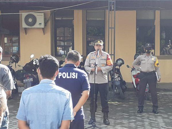 PATROLI Mendekatkan diri Pada Masyarakat Banjarmasin Selatan Jaga Keamanan Jelang PSU