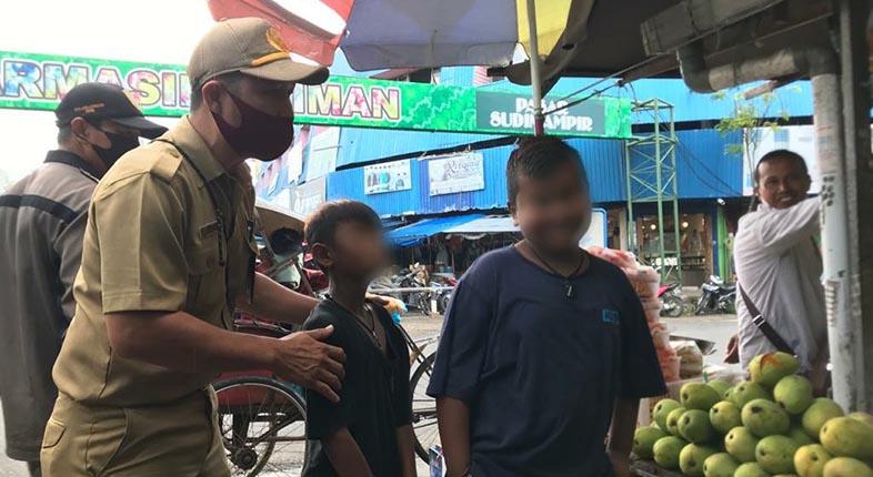 ANJAL 'BERGAYA PREMAN' Pasar, Kasat Nyatakan Tak Perlu Satpol PP yang Turun Tangan