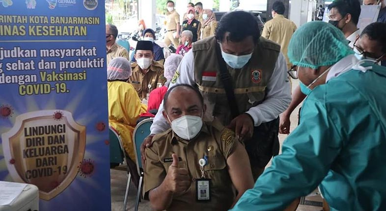 MELONJAK LAGI! Kalsel Sumbang 197 dari Sebaran 6.279 Kasus Baru Positif COVID-19 di Indonesia