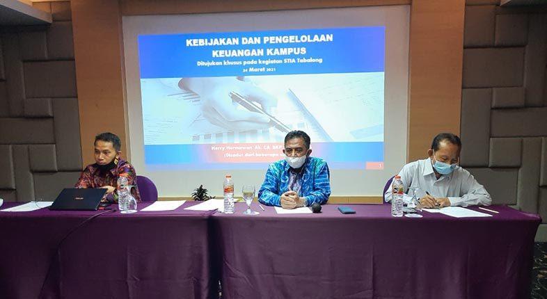 WORKSHOP Perkuat Pengelolaan Keuangan STIA Tabalong