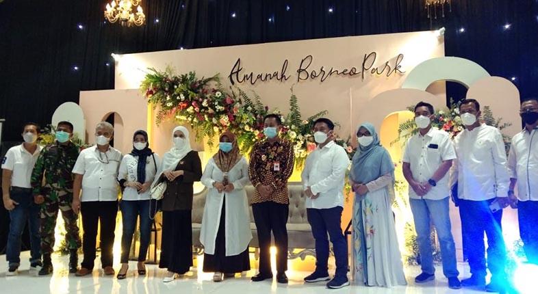 PILIHAN Gelaran Event di Masa Pandemi, Wedding Vanue Amanah Borneo Park