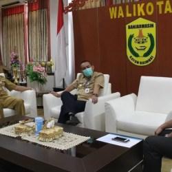 BANK KALSEL Sowan ke Pj Walikota, Sebut Saham Banjarmasin Posisi Kedua se Kalsel