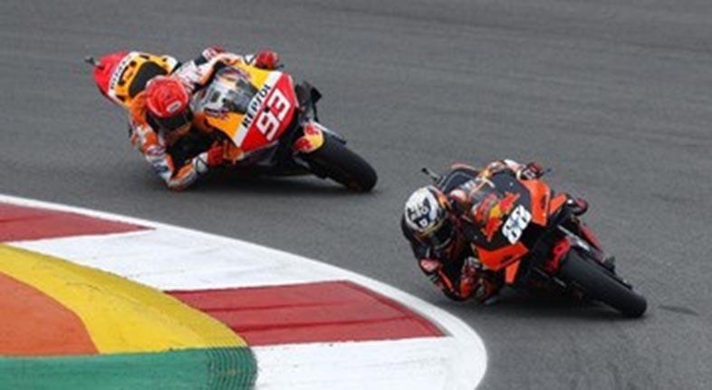 TANGIS MARQUEZ di MotoGP Portugal, Finis Ketujuh Usai Absen 9 Bulan