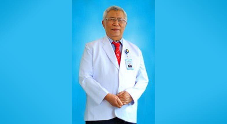 MENINGGAL DUNIA Direktur RS Sari Mulia dr HR Soedarto WW SpOG di Ramadhan ke-7