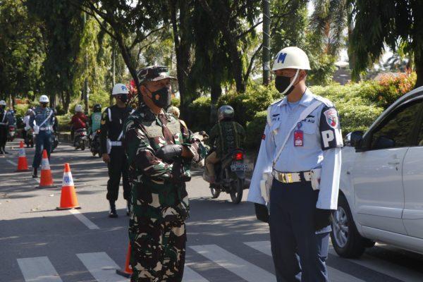 OPERASI GAKTIB Langsung Dipimpin Aspers Panglima TNI Didampingi Danrem 101/Ant, Cegah Prajurit Bertindak Arogan