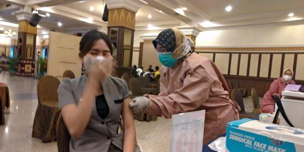 6 HOTEL dan 1 Rumah Makan di Banjarmasin Laksanakan Vaksinasi Covid-19