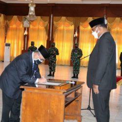 DILANTIK Kepala BPKP Kalsel, Begini Penekanan Pj Gubernur Kalsel