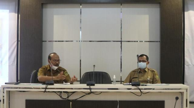 rapat koordinasi Sanitasi Kota Banjarmasin, di Aula Barenlitbangda, Balaikota Banjarmasin (3)