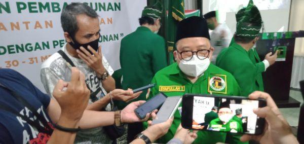 "60 PERSEN Susunan DPW PPP Kalsel Kedepan ""Digawangi"" Kaum Milenial, Ini Alasannya"