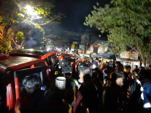 pengurus Barisan Pemadam Kebakaran (BPK) di Kota Banjarmasin