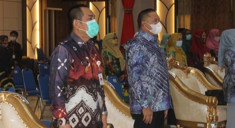 GELAR HLUN ke 25, Pj Walikota Banjarmasin Imbau Lansia Sukseskan Vaksinasi