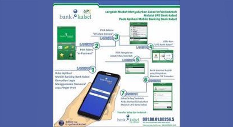 MOBILE BANKING Bank Kalsel Mudahkan Nasabah Bertransaksi