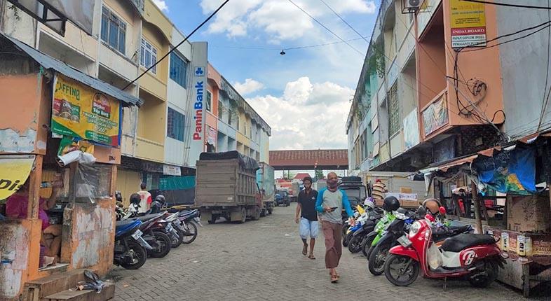 TIDAK DIPERPANJANG SHGB Pasar Sudirapi Banjarmasin