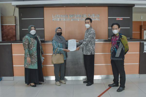 PENUHI JANJI Tuntutan Mahasiswa, Perwakilan DPRD Kalsel Sampaikan ke Kemensetneg RI