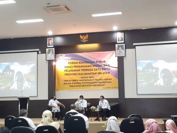 DIGELAR Forum Konsultasi Publik Bidan Pelayanan Perizinan