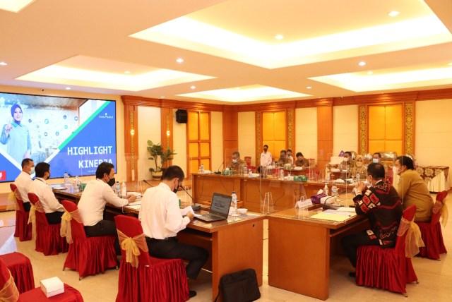 """rapat koordinasi bertajuk """"Ekspos Kinerja dan Permodalan Bank Kalsel"""" (2)"""