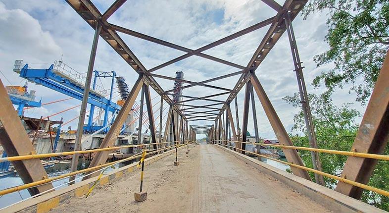 DITUTUP TOTAL Jembatan Alalak 1, Arus Lalin Kembali ke Awal