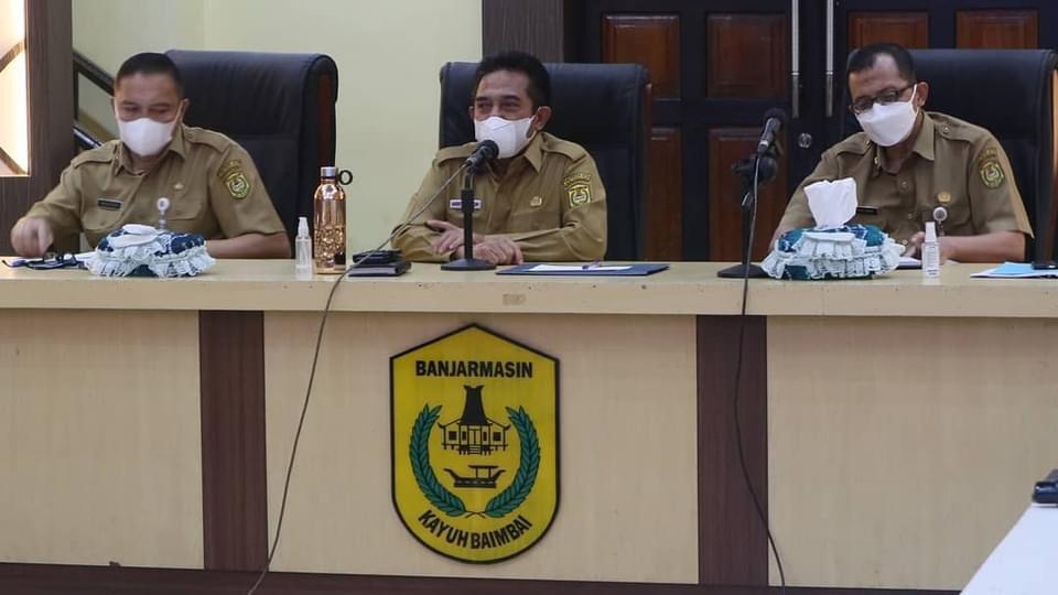 KUNJUNGI Sekretariat SKPD Lingkup Kota Banjarmasin, Wawali Arifin: Wujudkan Visi Misi 3,5 Tahun
