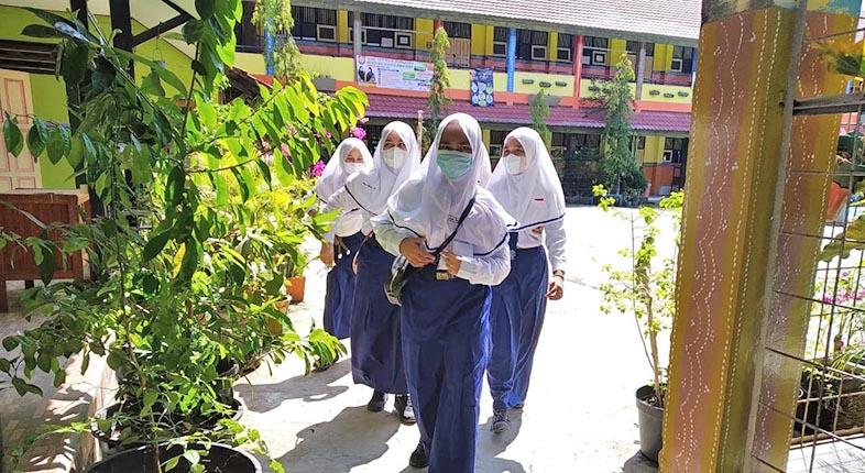 MESKI COVID-19 di Indonesia Melambung, Rencana PTM di Banjarmasin Tetap Berjalan