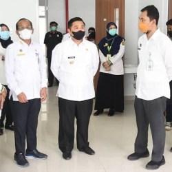 SIAGA LONJAKAN Covid-19 di Banjarmasin, Walikota Tinjau Kesiapan RSUD Sultan Suriansyah