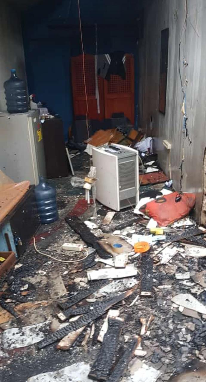 RUANG PPA Polresta Banjarmasin Diamuk Api, Ini Penyebabnya Ucap Kapolresta