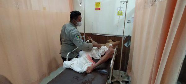 PENGANCAM Polisi yang Ditembak di Pasar Dikenakan Pasal Berlapis
