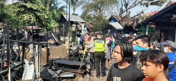 HANYA MOTOR Terselamatkan dari Amuk Api di Gang Swarga Biru Kuin Selatan