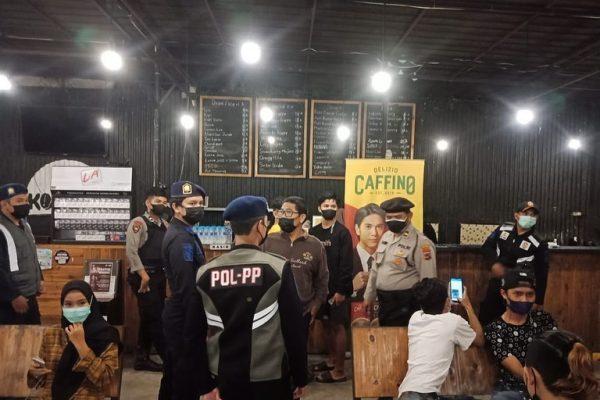 DITEMUKAN 125 Pelanggaran tidak Bermasker di Sejumlah Cafe dan Pasar Malam