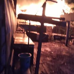 ENAM Buah Rumah Termasuk Milik Ketua RT Ludes Terbakar