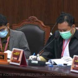 DIBANTAH KPU Kalsel Semua Dalil Dimohonkan Paslon Denny Indrayana – Difriadi di Sidang MK