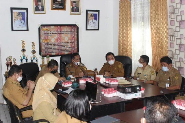 kunjungan wakil walikota ke beberapa Satuan Kerja Perangkat Daerah (SKPD) di lingkungan Pemerintah Kota Banjarmasin
