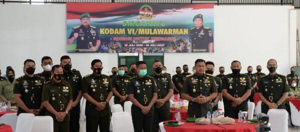 BARENGI Dialog Interaktif di Puncak HUT Kodam VI/ Mulawarnan dengan Satuan Wilayah Terkait Situasi dan Kondisi