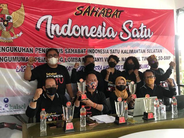DIKUKUHKAN Sahabat Indonesia, Lomba Nyanyi Virtual Nasional Sukses (2)