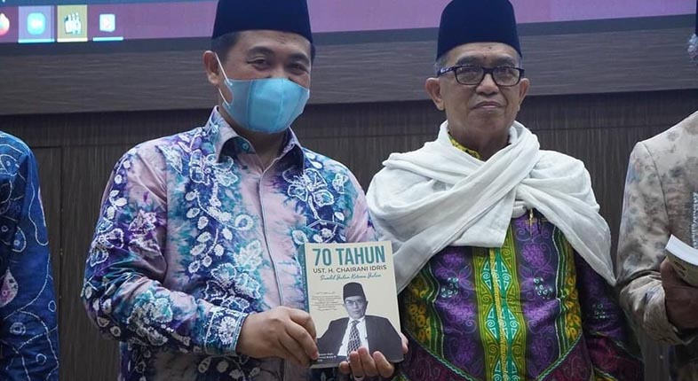 DILANTIK Ketua DDII Kalsel, Sekalian Launching Buku Ustadz H Chairani Idris