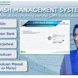 CASH MANAGEMENT SYSTEM Bank Kalsel Permudah Bertransaksi