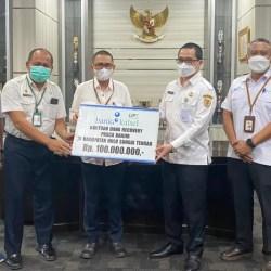 UPZ BANK KALSEL Bantu Recovery Hulu Sungai Tengah Pasca Banjir