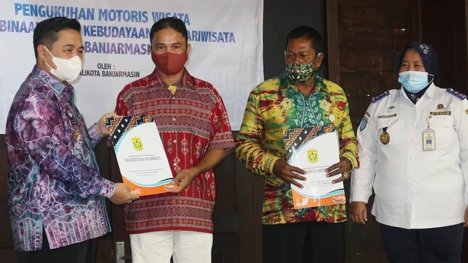 MOTORIS WISATA Mitra Binaan Pemko Banjarmasin Dikukuhkan Walikota