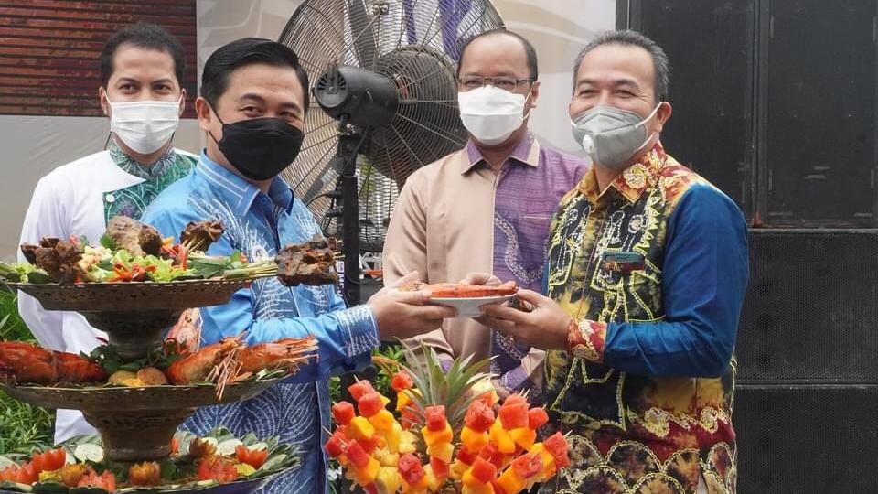 FESTIVAL SAHANG Meriahkan Rangkaian Hari Jadi Kota Banjarmasin