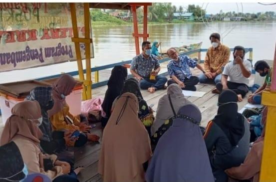 KEMBALI Dilatih Desa Lok Baintan jadi Sentra Pengolahan Ilung