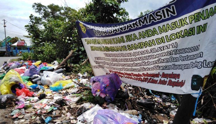 TUMPUKAN Sampah, Kontradiksi dengan Fakta Banjarmasin 4 Kali Berturut-turut Raih Adipura