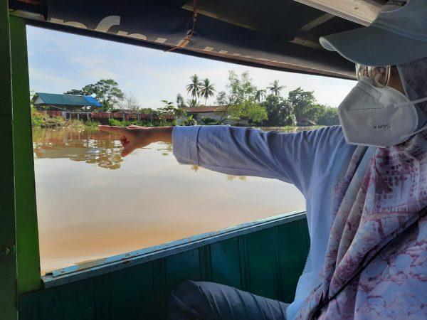 SUSUR Temukan Banyak Sampah Plastik di Sungai Martapura