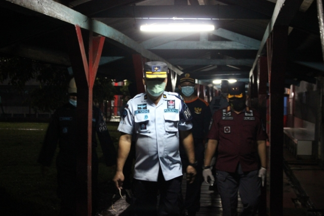 LAPAS – RUTAN di Kalsel Pemeriksaan Instalasi Listrik, Pasca Kebakaran di Tangerang