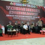 SEHARI 1.082 Jiwa Ucap Kapolresta Banjarmasin Menerima Sinovac